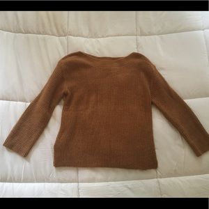 Leith tan sweater size medium